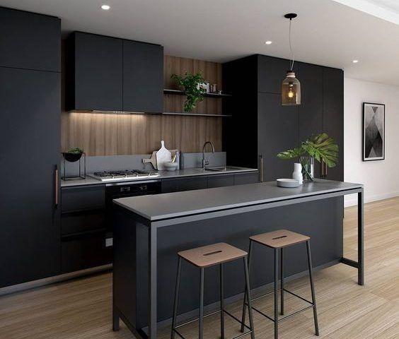 Muebles De Cocina Modernas,reposteros, Postformado, Granito