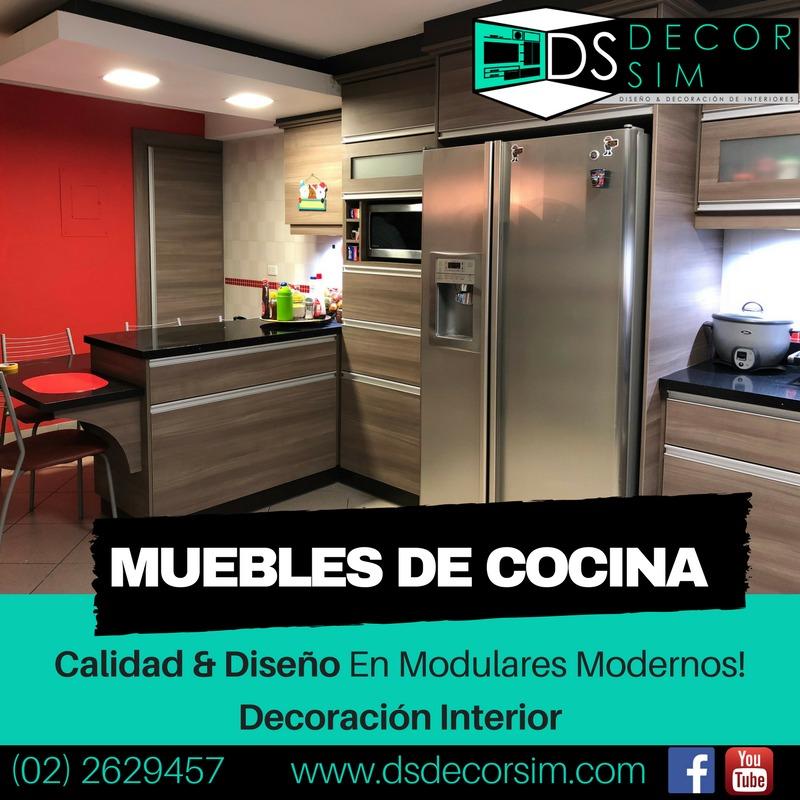 Muebles De Cocina Modernos Ofrecemos Asesoramiento