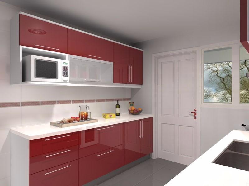 Muebles de cocina placares mesadas granitos marmol for Mesadas de marmol para cocina