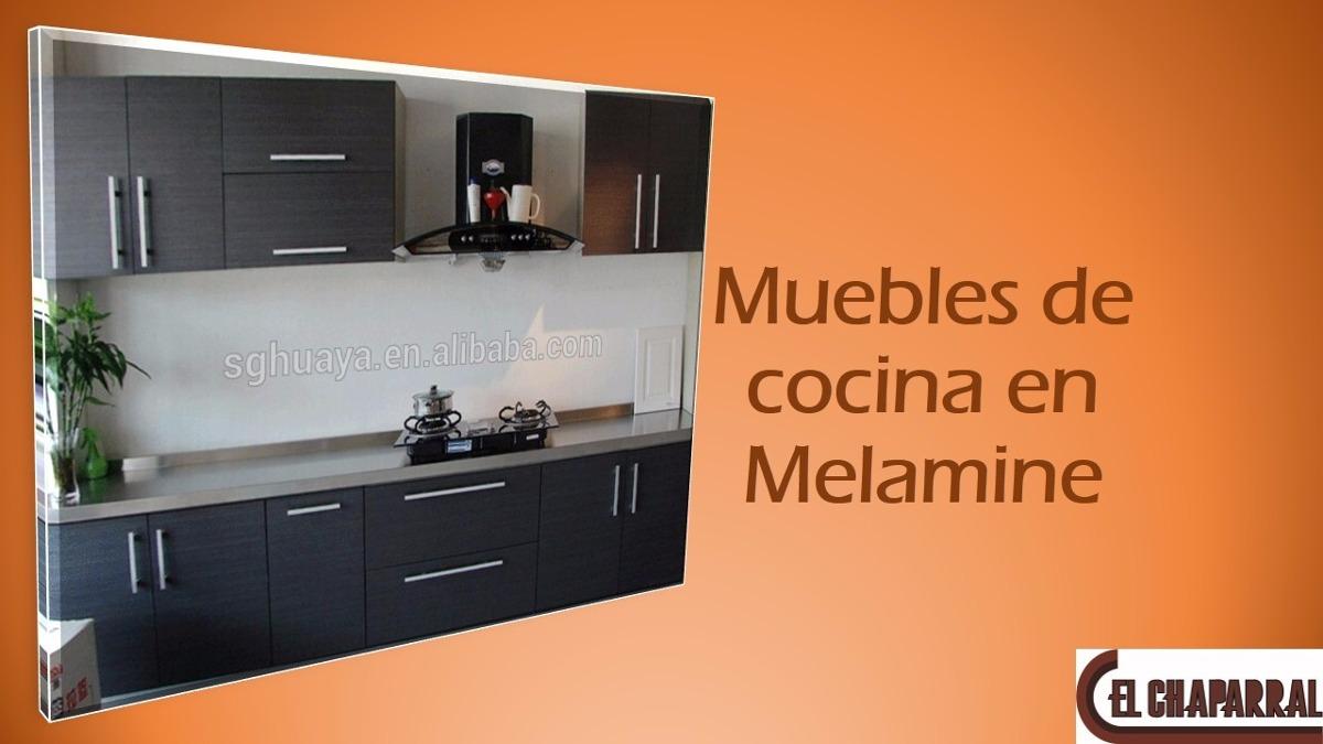 Muebles de cocina reposteros en melamine s 999 00 en for Muebles de cocina 2 mano