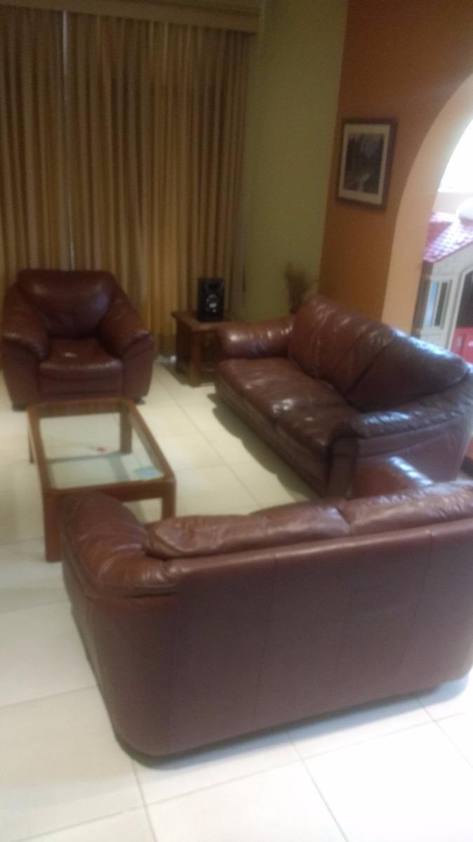 Muebles De Cuero Dawson En Buen Estado S 1 500 00 En Mercado Libre # Muebles Saga Falabella