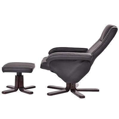 Bonito Muebles De Cuero Reclinable Chairfootstool Cresta - Muebles ...