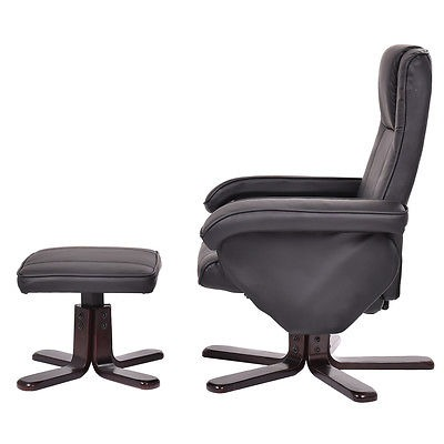 Muebles De Cuero Silla Ejecutiva Ocio Reclinable... - $ 206.990 en ...
