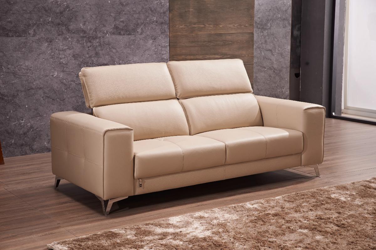 Muebles De Cuero | Sofa Rizzo 02 Cuerpos - $ 849.990 en Mercado Libre