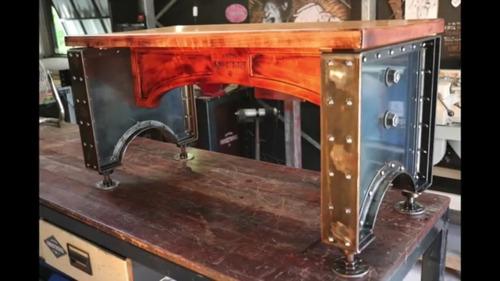muebles de diseño rústico industrial.