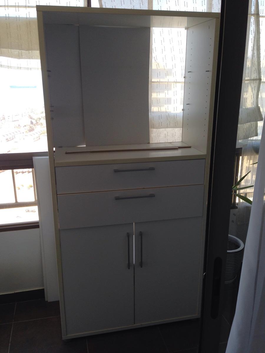 Muebles de estantes y cajones melamina blanca for Cajones para muebles