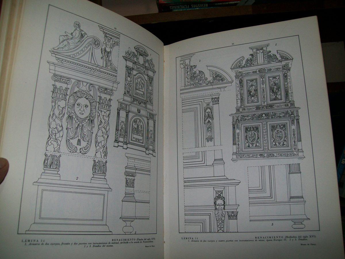 Muebles de estilo frances 412 laminas y 2 603 grabados for Muebles estilo frances online