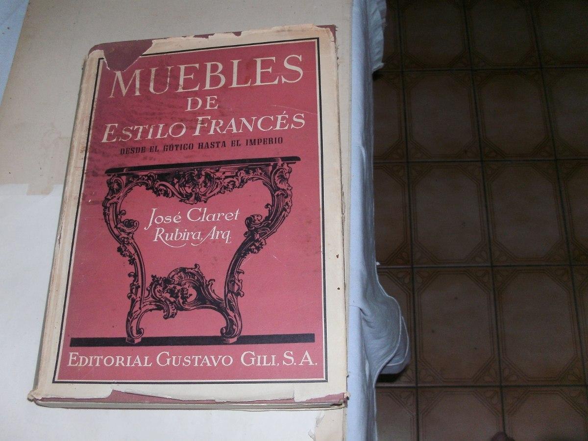 Muebles De Estilo Frances 900 00 En Mercado Libre # Muebles Gustavo