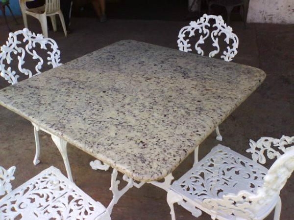 Muebles De Jardin De Hierro Fundido Recibos,comedores.modelo - Bs. 0 ...