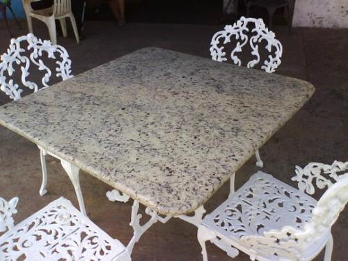 muebles de jardin de hierro fundido recibos,comedores.modelo