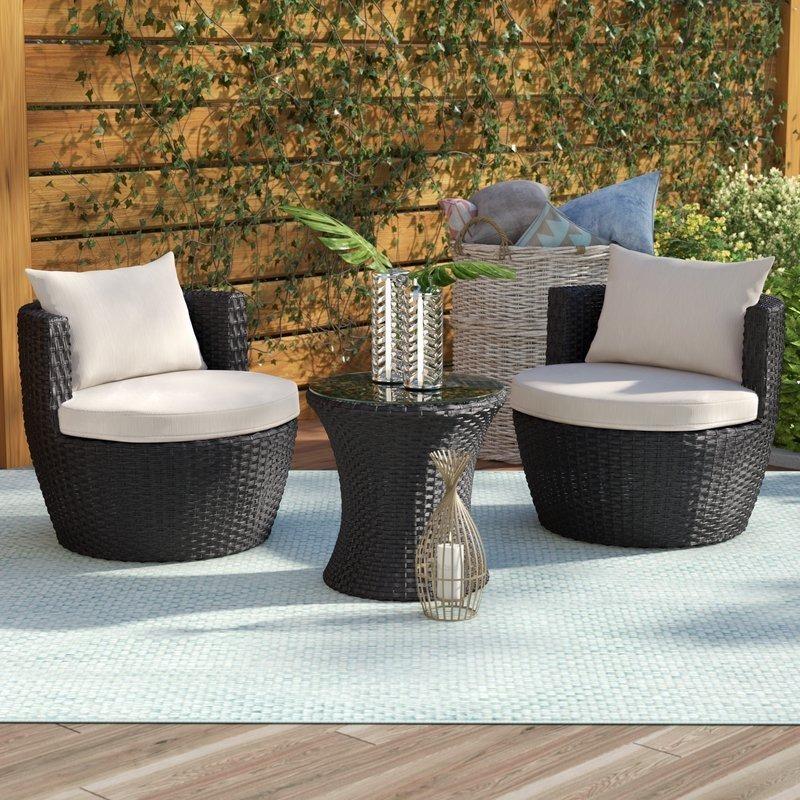 Balcón Jardín Muebles Plegables: Muebles De Jardin Para Exterior Para Balcón / Terraza