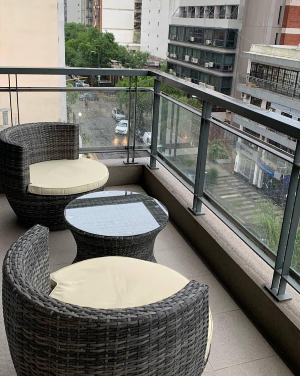 Muebles De Jardín Terraza Balcón Para Exterior De Aluminio