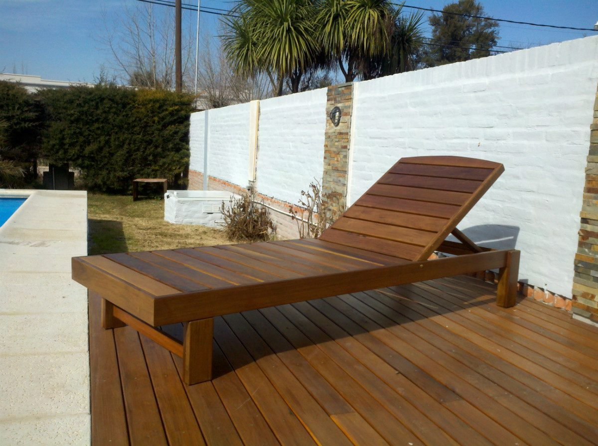 Muebles De Jardín,colocación Pisos Deck, Pérgolas, Barandas ...