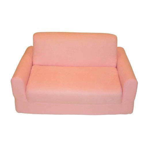Sleeper Pink Micro Suede