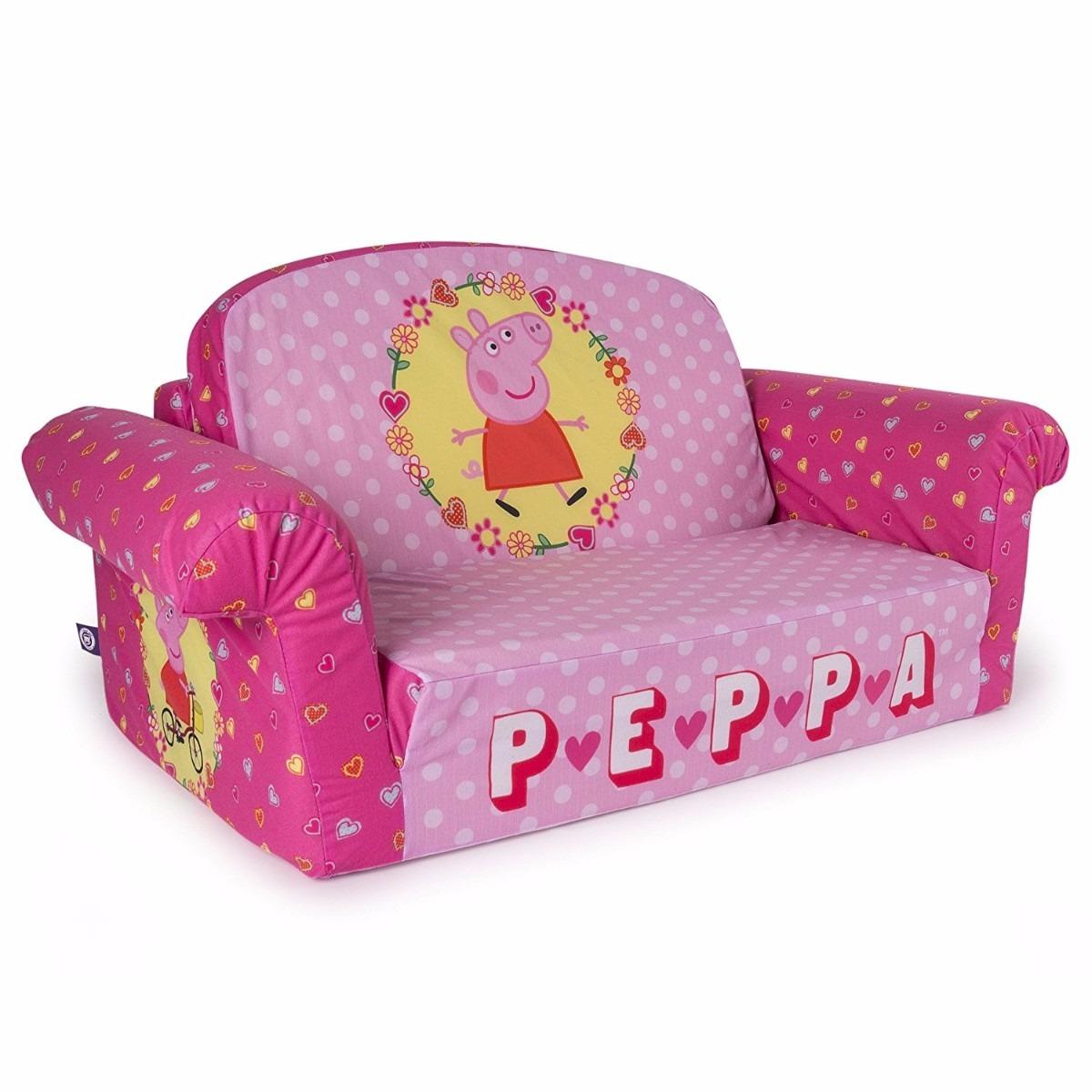 Muebles De Los Ni Os 2 En 1 Sof Cama De Peppa Pig 218 477 En  # Muebles De Peppa Pig