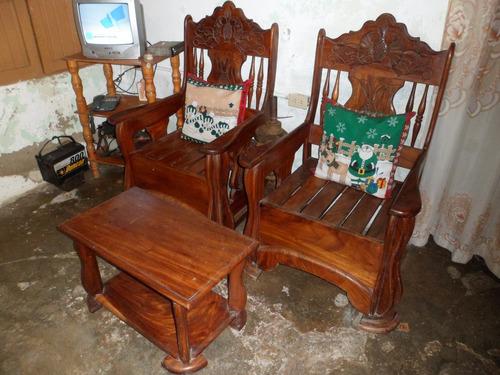 Muebles de madera usados mercado libre 20170715201342 for Muebles de sala madera