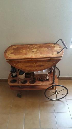 muebles de madera de caoba