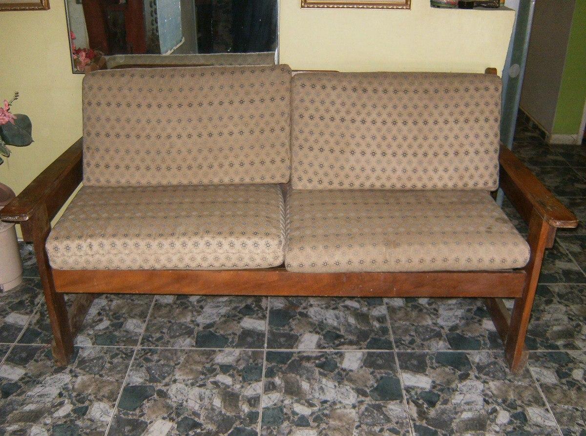 Muebles de madera estilo rustico con cojines bs 995 00 - Muebles con estilo ...