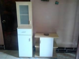 muebles de madera para baño