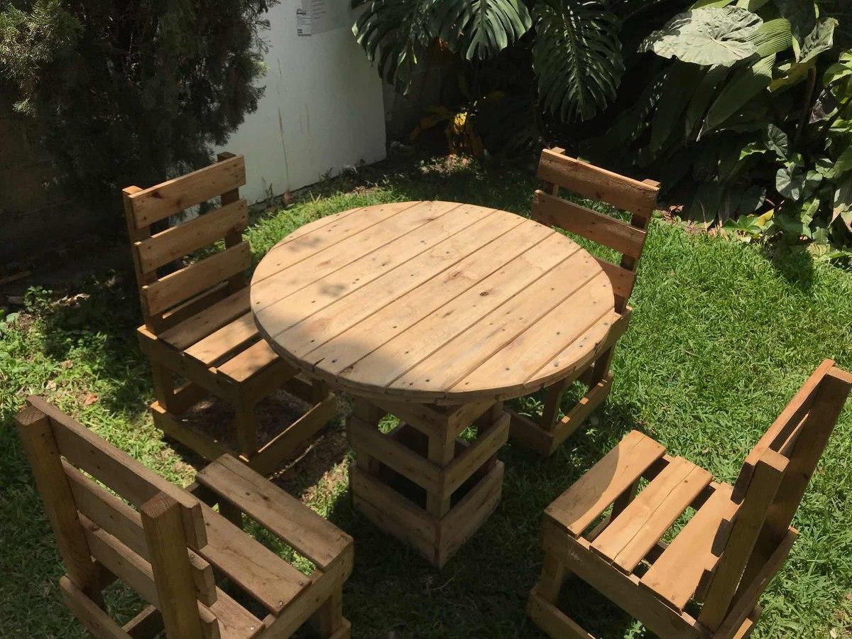 muebles de madera reciclada 1 en mercado libre