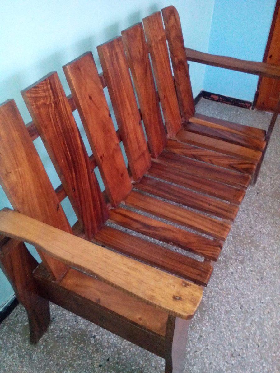 Muebles de madera r sticos bs en mercado libre for Muebles rusticos