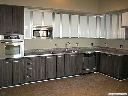 cocina moderna en melamine con encimera... - Muebles de Melamina ...