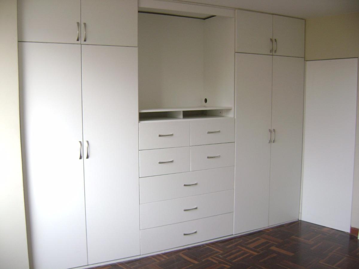 Muebles de melamina para dormitorio s 1 00 en mercado for Roperos para dormitorios en melamina