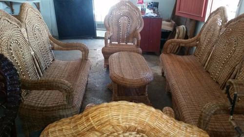 muebles de mimbre!