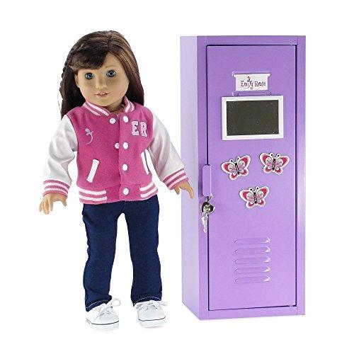 muebles de muñecas de 18 pulgadas | armario de almacenamien