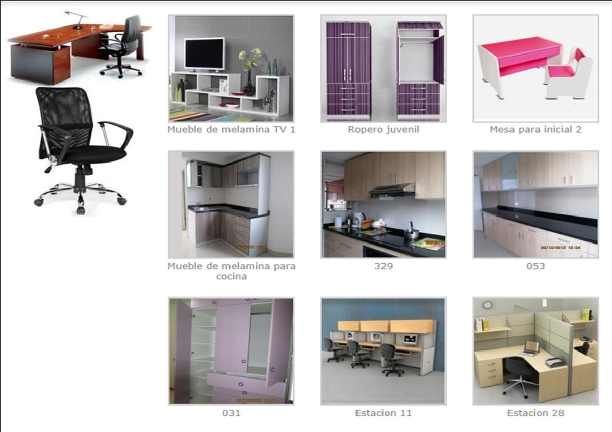 Muebles De Oficina A La Medida, Escritorios, Separadores,etc - S ...