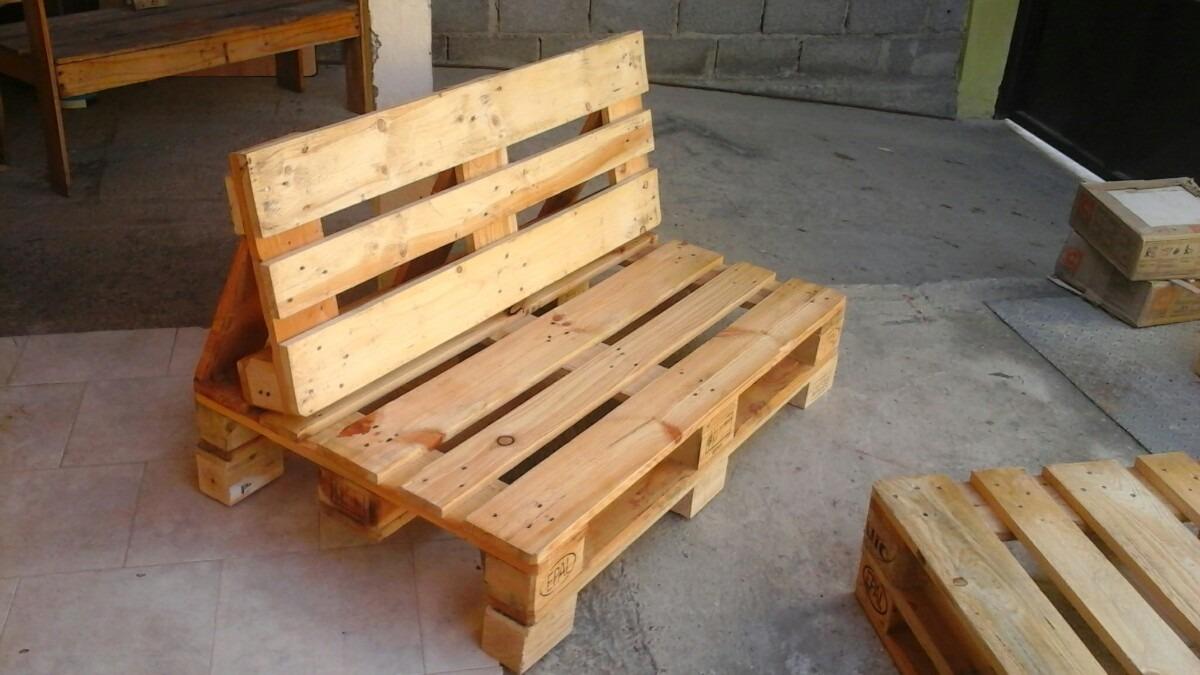 Paletas muebles palets for Muebles hechos con paletas de madera
