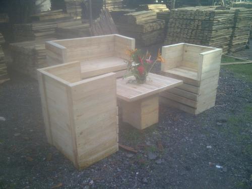 muebles de paletas por catalogo en oferta