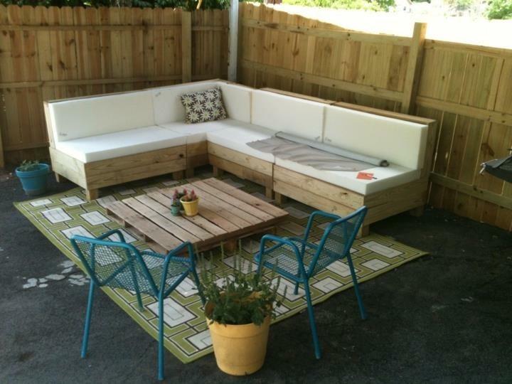 Muebles de palets pallet esquineros sof ssofas for Muebles de sofa