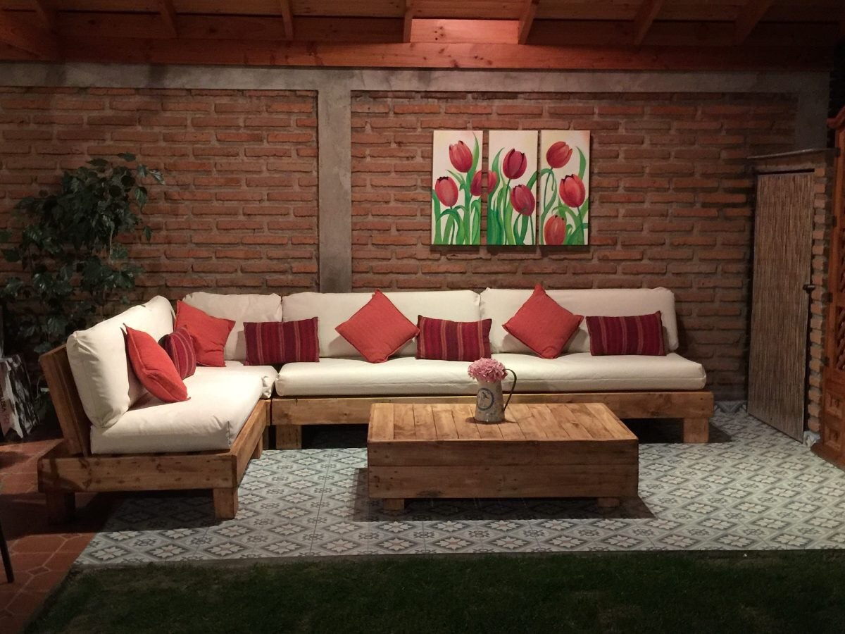 Muebles de palets pallet esquineros sof ssofas for Muebles de jardin uruguay