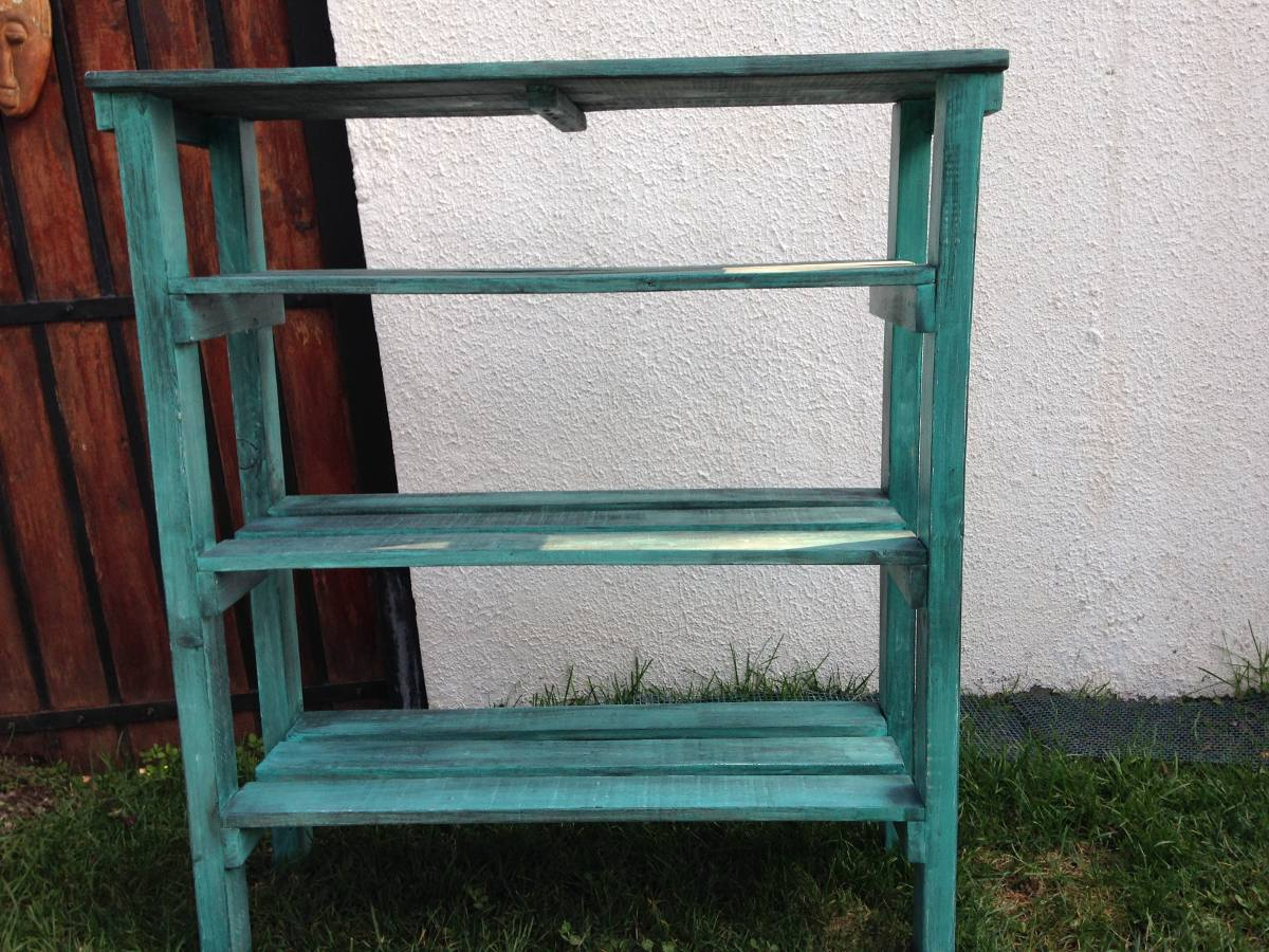 Muebles De Pallet Gallery Of Pallet Palet Mueble Silln With  # Muebles Lijados