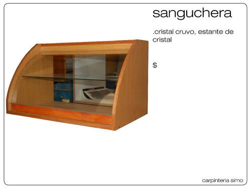 muebles de panaderia sanguchera