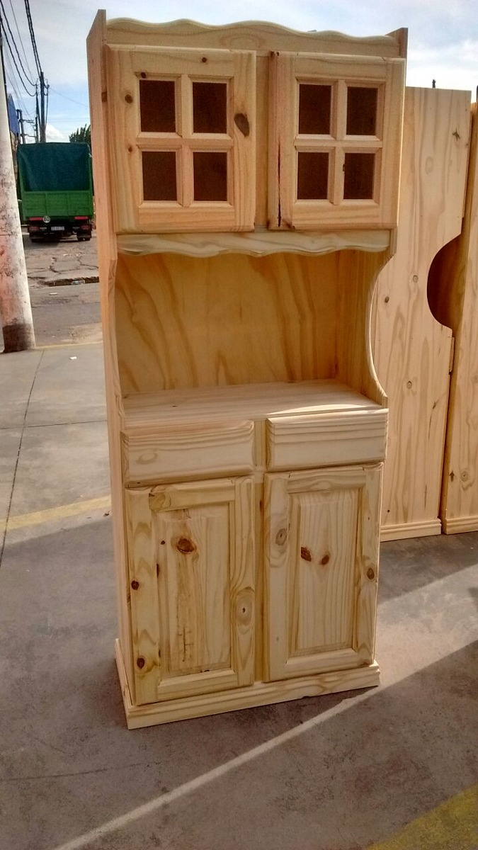 Muebles De Pino Crudo O Pintados 11 00 En Mercado Libre # Muebles En Crudo