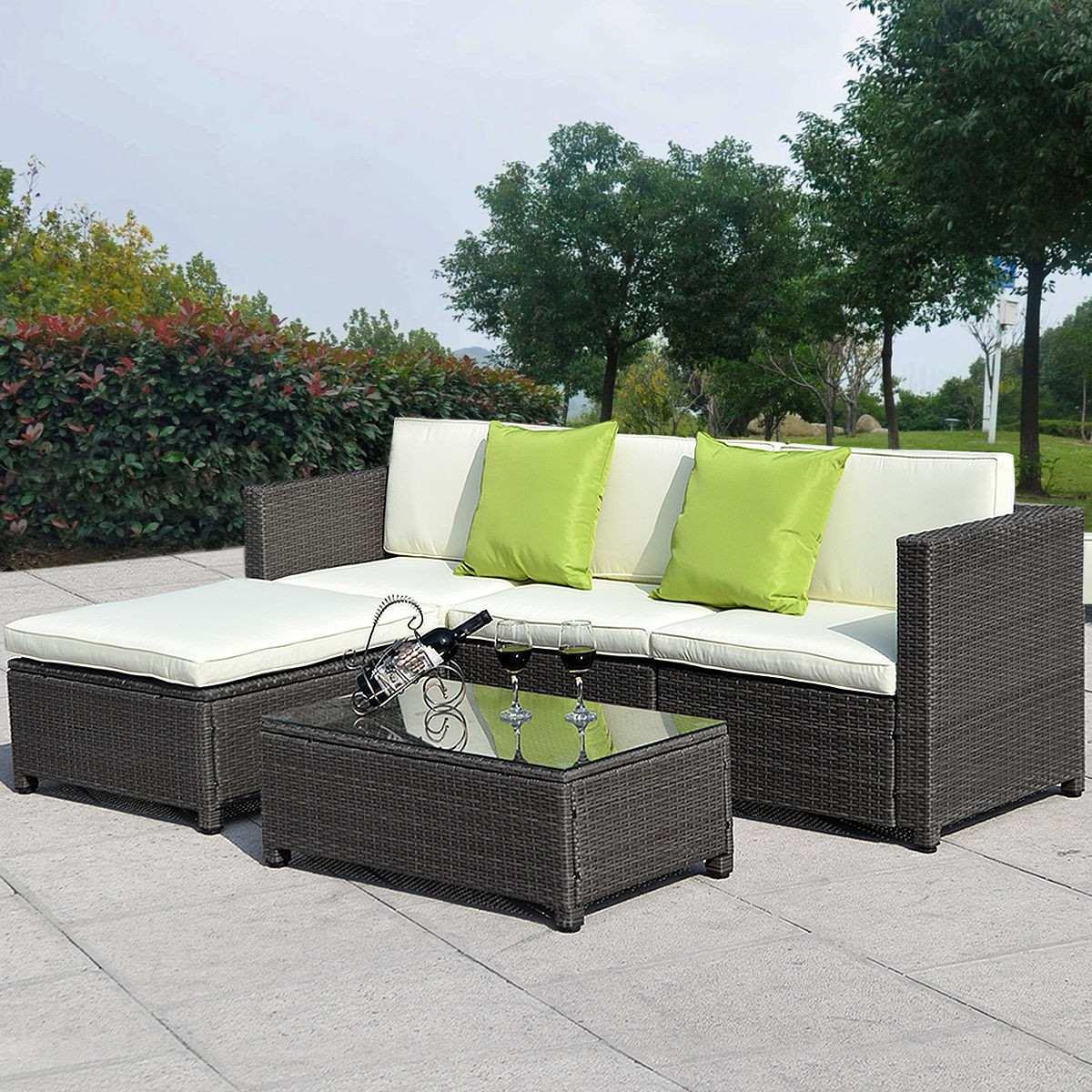 Muebles de ratan sintetico para jardin muebles mimbre for Muebles de terraza y jardin baratos