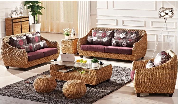 Muebles de ratan muebles de jardin sofa de ratan para exterior con respecto a muebles jardin - Muebles al natural ...