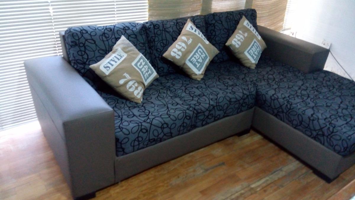 Muebles de sala modernos en l usados como nuevos dos for Muebles de sala en l modernos