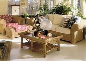 muebles de sala o comedor de ratan importados