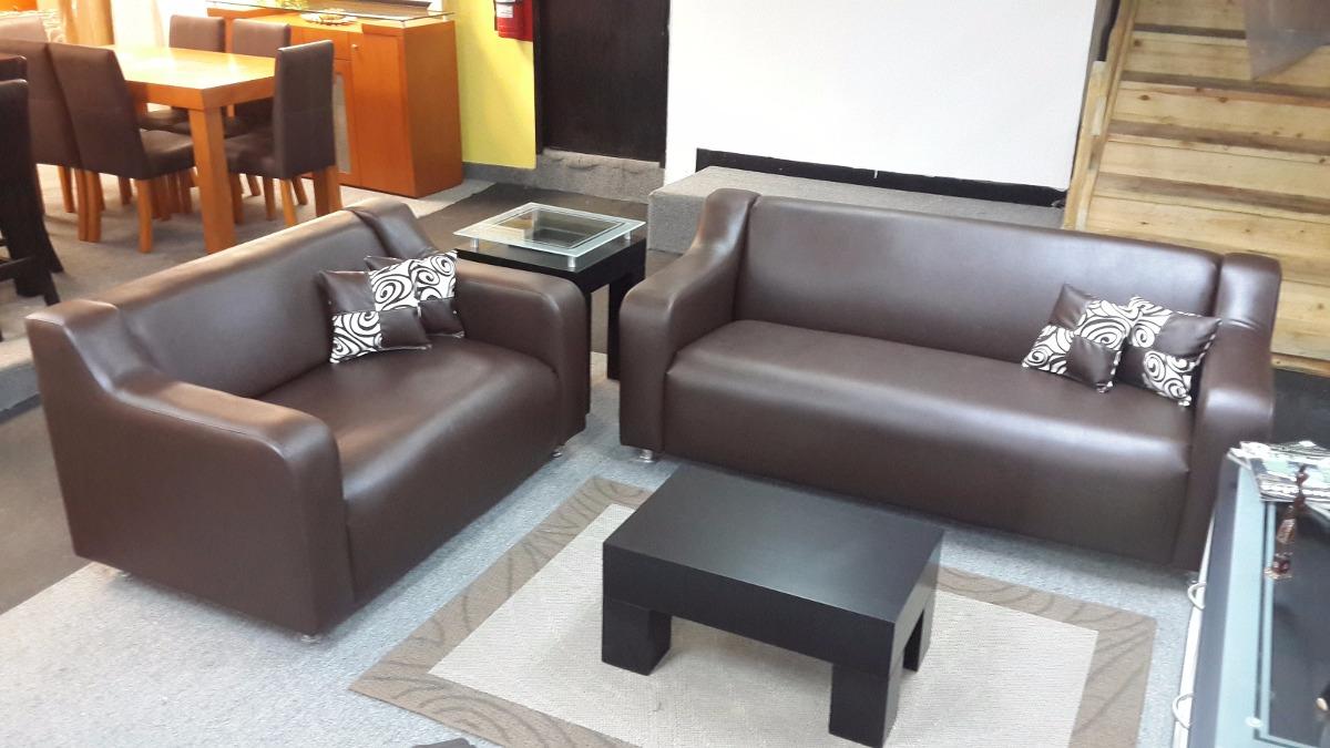 Muebles de sala sof de 3 y 2 puestos bs for Muebles de sofa