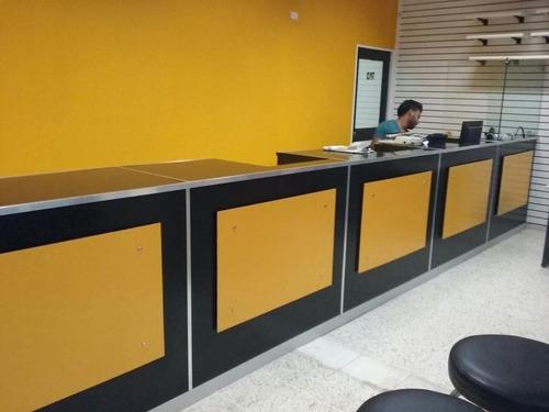 muebles de servicio al cliente a la medida