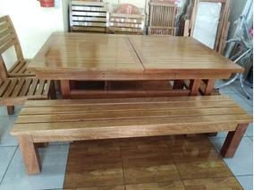 Muebles De Terrazas En Madera Tornillo Muy Buena Calidad