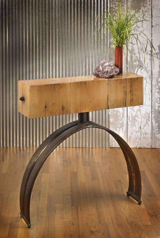 Moderno Muebles Diseño Banco De Madera Embellecimiento - Muebles ...