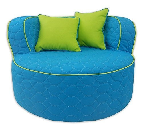 Muebles Divertidos 95722 Throw Back Chair, Aqua / Lime - $ 6,743.70 ...