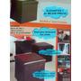 Mueble Multiuso Plegable Semi Cuero (nuevo De Paquete)