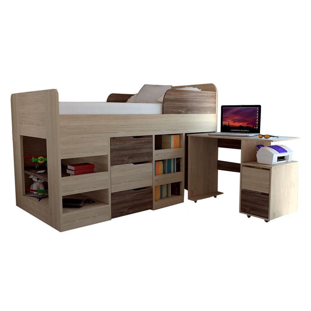 Muebles Dormitorio Rta - Cama Nido Infantil (incluye Escrito ...