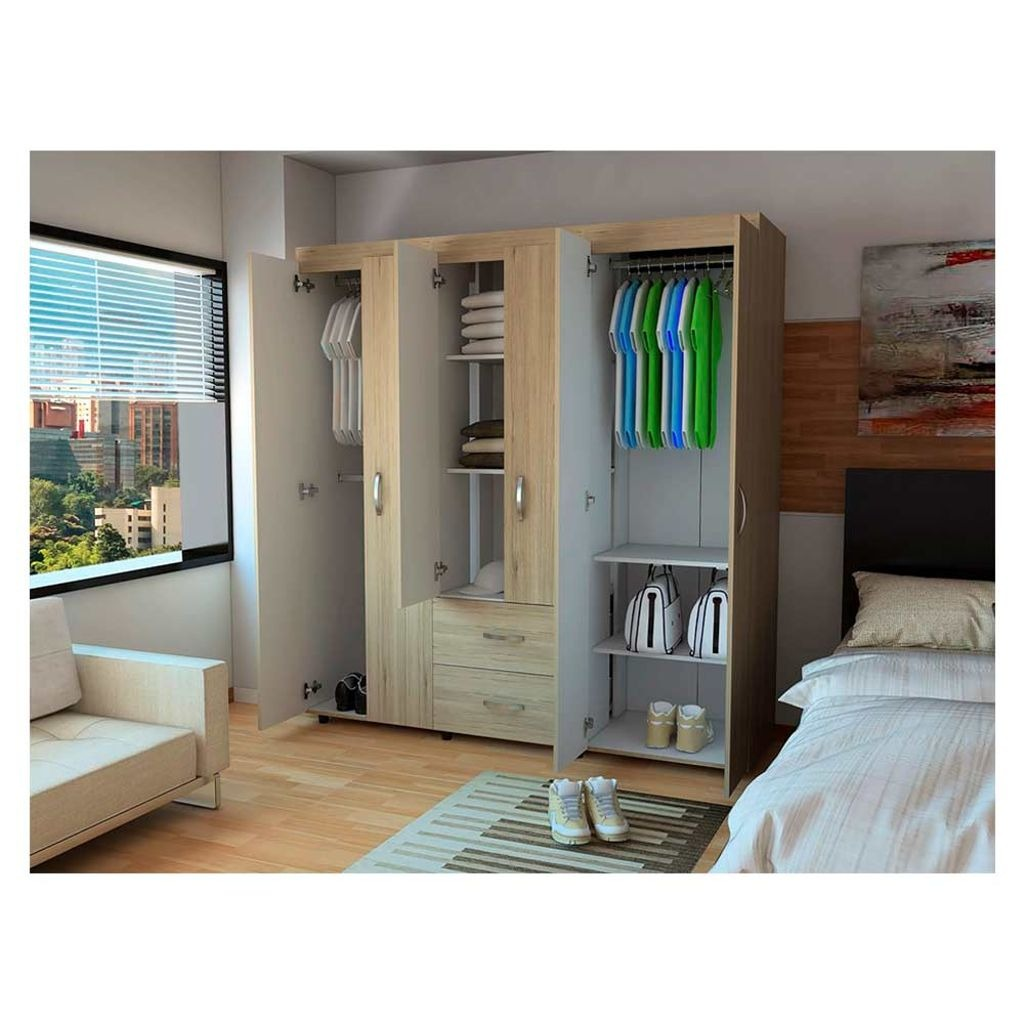 Muebles Dormitorio Rta - Closet Bariloche Rovere - Rta - $ 666.000 ...