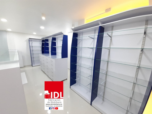 muebles droguería vitrinas farmacia torres  medicamentos